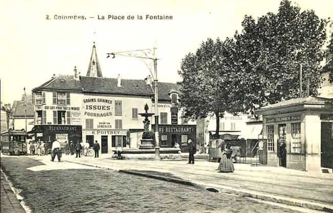 Vieux Colombes Place Du G N Ral Leclerc
